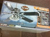 HARLEY DAVIDSON REVERSIBLE CEILING LIGHT FAN 81001 52 INCH NEW IN BOX